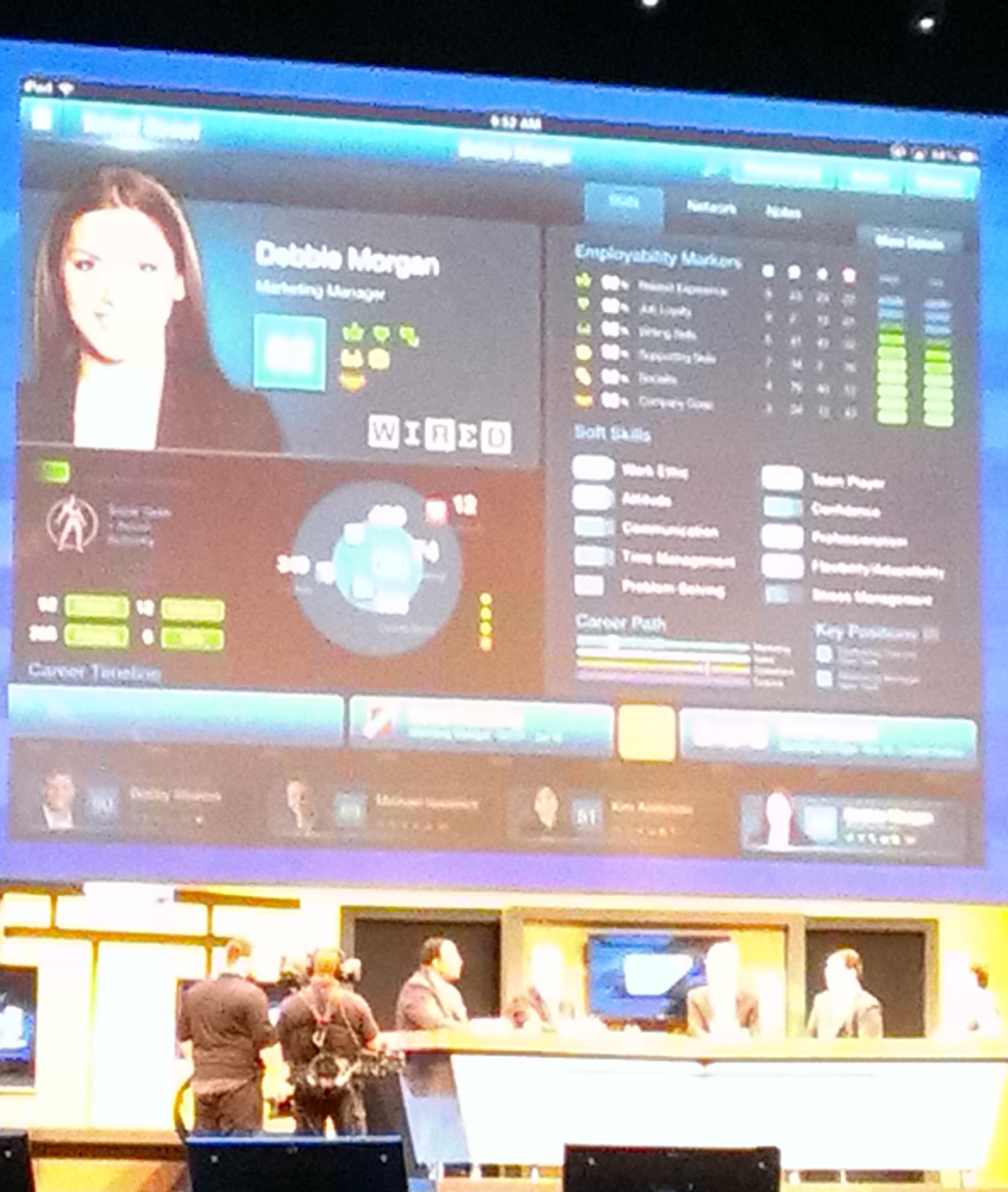 Talent Scout is a piece of software SAP says can help you hire a linebacker or a marketing manager.