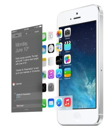 iOS 7 3D effect