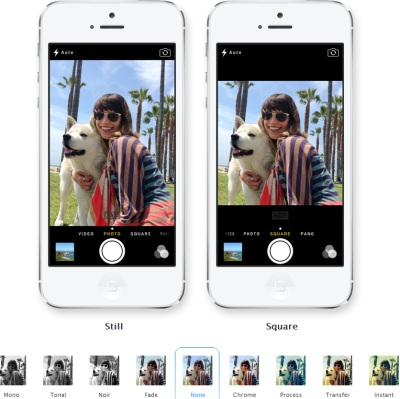 ios7 Apple camera