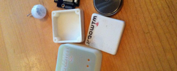 Wimoto Technologies' small, wireless sensors for the home or office.