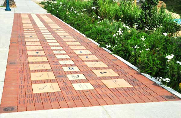 Kanata, Ont.-residents who donate $500 to a recreation complex project will get an engraved stone on the Community Legacy Walkway. (Image courtesy Richcraft Recreation Complex)