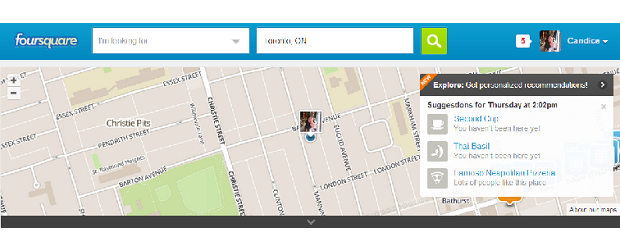 foursquare - featured - web