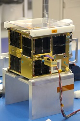 (Image: Anthony Reinhart, Communitech). A microsatellite similar to the ones Database will be launching next year.