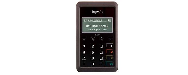 (Image: provided). Ingenico's ICMP device.