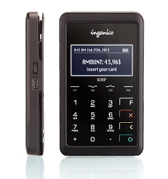 (Image provided). The ICMP device for on-the-go service providers or retailers.