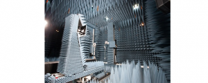 (Image: provided). The University of Waterloo's Centre for Intelligent Antenna and Radio Systems has an anechoic chamber for measuring terahertz, a part of the electromagnetic spectrum that is still mysterious to us.