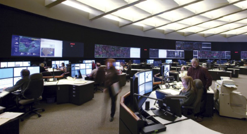 HydroOne's Emergency Service Information System centre. (Image: AGSI)