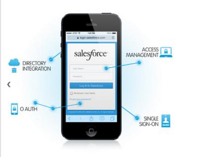 (Image: provided). Salesforce Mobile Identity.