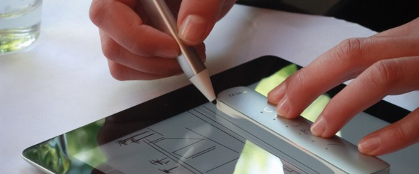 (Image: Adobe). Adobe's new digital pen and ruler, its first hardware releases.