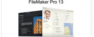 (Image: FileMaker).