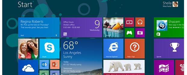 (Image: Microsoft). Windows 8.1.
