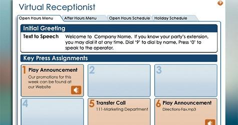 Ooma - Virtual Receptionist