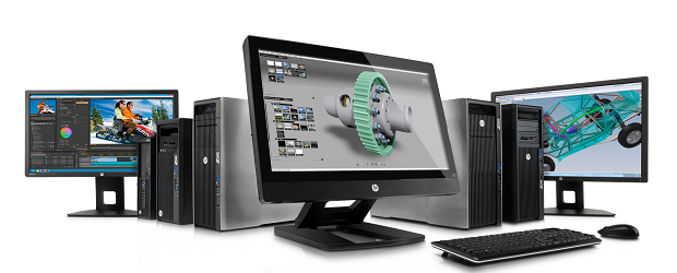 (Image: HP). HP's Z series of workstations.