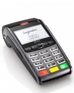 (Image: Ingenico). The IWL 220, the POS terminal used for the proof-of-concept with the MintChip platform.