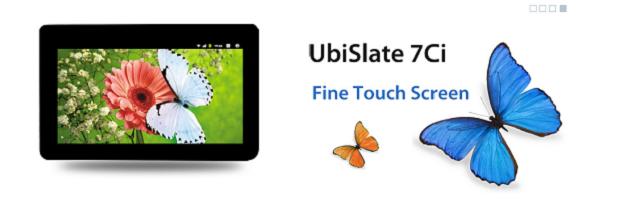 The UbiSlate 7Ci. (Image: DataWind).