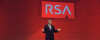 Art Coviello, executive chairman of RSA Security Inc., speaking at RSA 2014. (Image: RSA).
