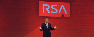 Art Coviello, executive chairman of RSA Security Inc., speaking at RSA 2014. (Image: RSA).