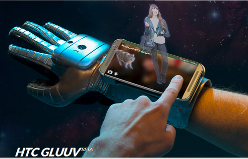 The HTC Gluuv, its April Fools' Day prank for 2014. (Image: HTC).