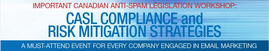 CASL compliance event