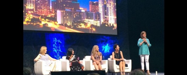 Inspiring panel of women entrepreneurs at 5th global gathering of  Dell Women Entrepreneurs Network in Austin TX