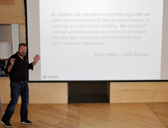 "Shopify's API is ""just awesome,"" says Michiel Gaasterland, content marketing for Robin."