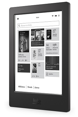 The Kobo Aura H20. (Image: Kobo).