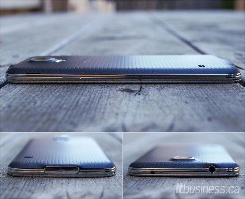 Samsung Galaxy S5 multiple angles