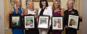 Honorees at Women in IT Channel Luncheon