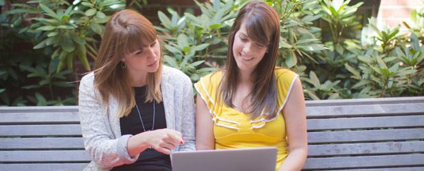 women-looking-at-laptop