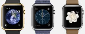 The Apple Watch. (Image: Apple).