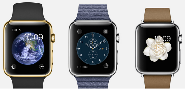 The Apple Watch. (Image: Apple).