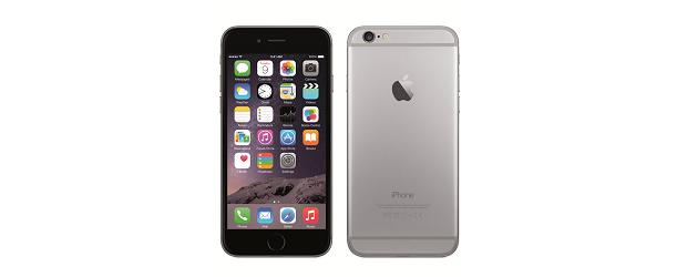 The Apple iPhone 6. (Image: Apple).