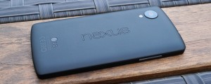 The current Nexus 5, which may soon be replaced by the Nexus 6 this fall.