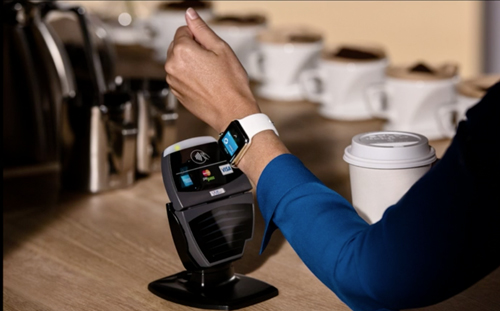 Apple Pay will also be featured on Apple Watch, due to be released in early 2015.