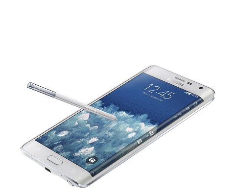 The Samsung Galaxy Note Edge. (Image: Samsung).