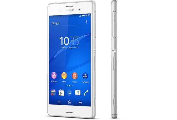 The Sony Xperia Z3. (Image: Sony Mobile).