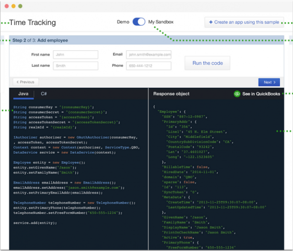 A new developer tool from Intuit is designed to allow developers to quickly test new code.