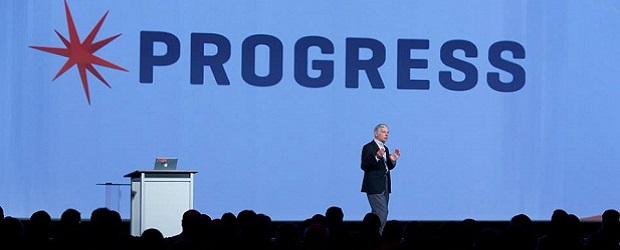 Phil Pead at Progress Exchange 2014. (Image: Progress Software).