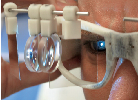 An early prototype of Google Glass is shown here, from collection of memories Google emailed out to Explorers marking the end of the program.