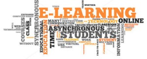 E-learning word cloud