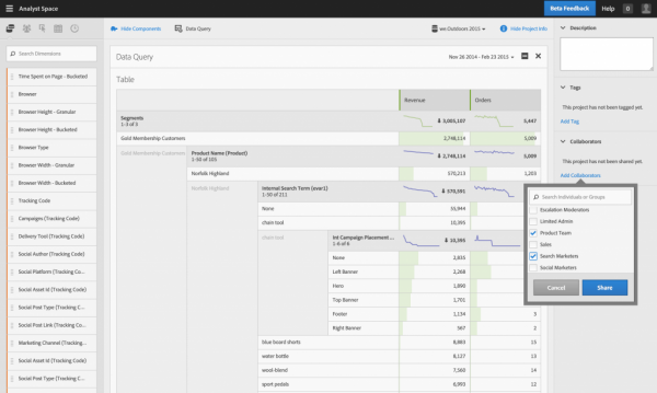 Freeform-Analytics-screen