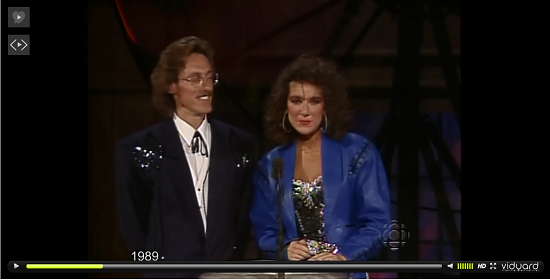 Archival footage was used to produce a video of Celine Dion's fashion at the Junos from 1989 to today, powered by Vidyard.
