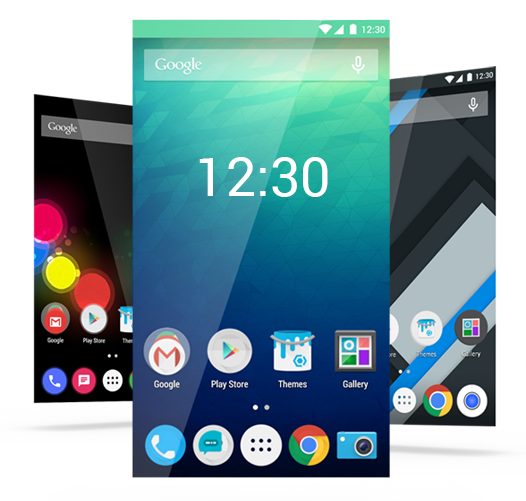 Cyanogen users can choose from a number of themes on their handsets.