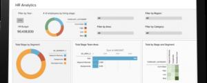 Salesforce HR dashboard