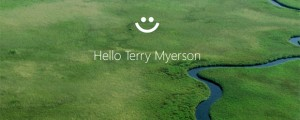 Windows Hello lock screen