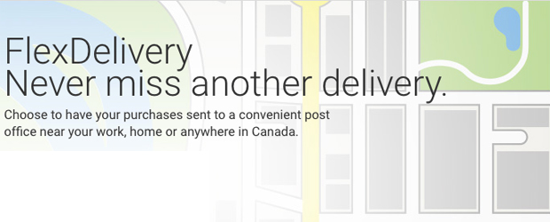Canada Post's FlexDelivery service