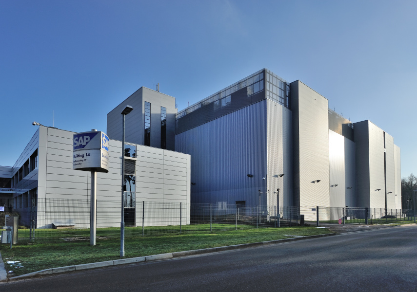 An SAP data centre location in Germany.