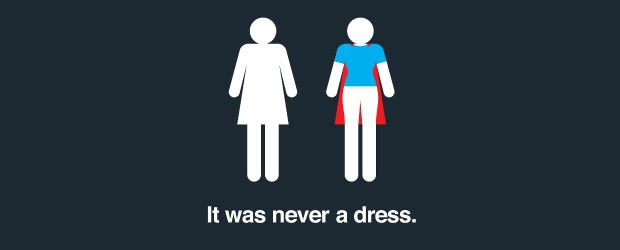 Happy Mother's Day - It was never a dress