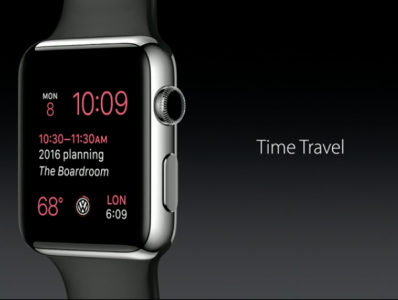 Apple Watch - Time Travel