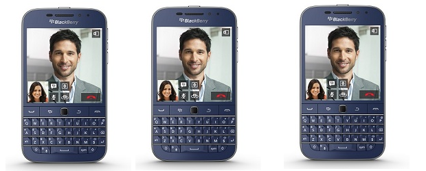 BlackBerry Classic Blue featured
